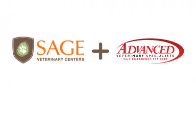 SAGE Veterinary Centers NEW Partnership with Advanced Veterinary Specialists